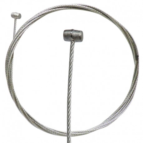(056036) CABLE CLUTCH 2.00 mts acero inoxidable Motocarro TVS