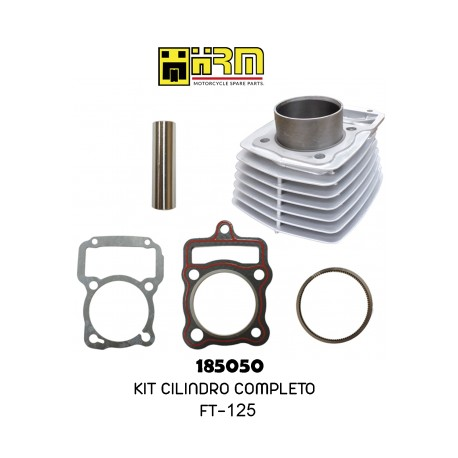 (185050) KIT CILINDRO COMPLETO CP FT125
